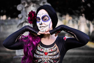 Sugar-Skull Womens Morphsuit