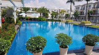 hồ bơi lovera park khang điền bình chánh