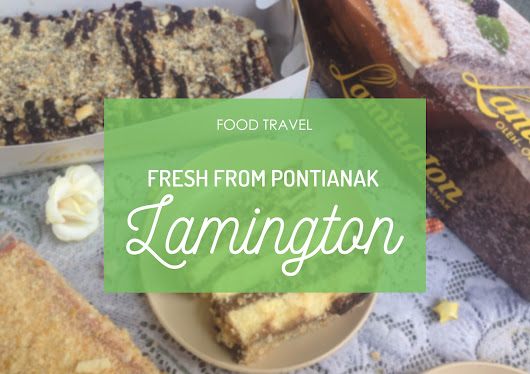 degortez: Food  Travel // Lamington