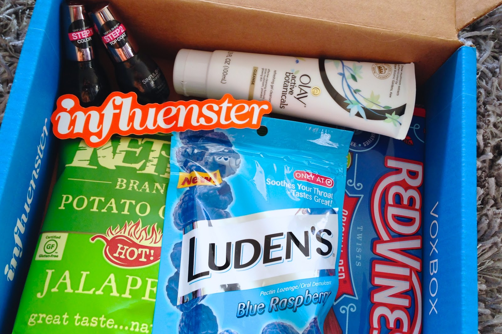 Influenster Homecoming VoxBox