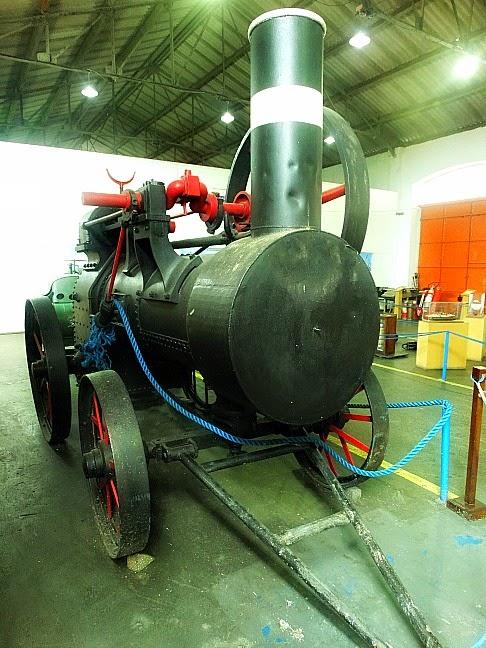 Locomóvel no Museu do Porto de Rio Grande