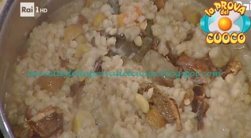 Zuppa di orzotto con porcini e marroni ricetta Messeri da Prova del Cuoco