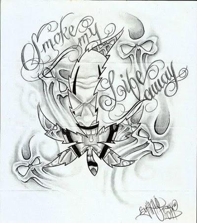 hand tattoo ideas  Smoke