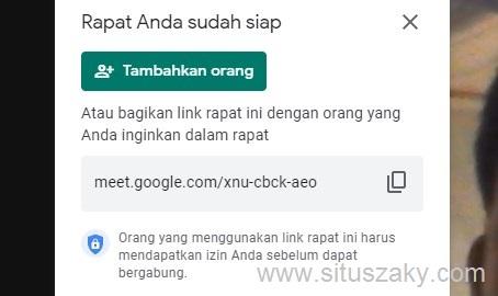 cara menggunakan google meet di laptop dan hp