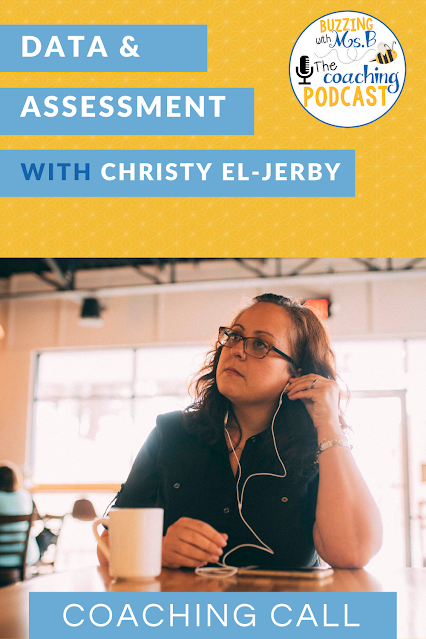 Instructional coaches are natural problem solvers, but sometimes we need another person's perspective. In this episode, Christy El-Jerby, a literacy coach, joins me to talk through some challenges she's having with teachers around assessment and data. We discuss possible next steps to try. You're going to walk away with some great ideas. #instructionalcoaching  #instructionalcoachingstrategies #assessmentstrategies