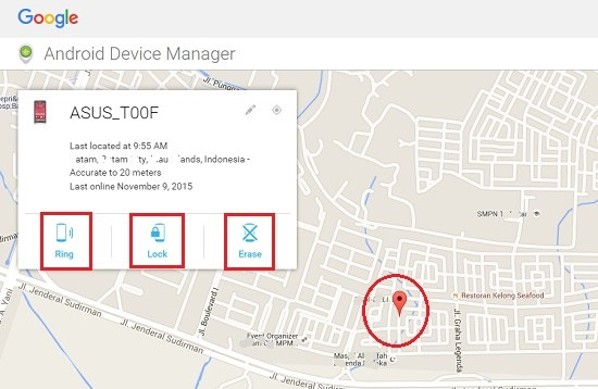 Tutorial tutorial Melacak Hp Android yg Hilang atau Dicuri Terbukti sukses!!