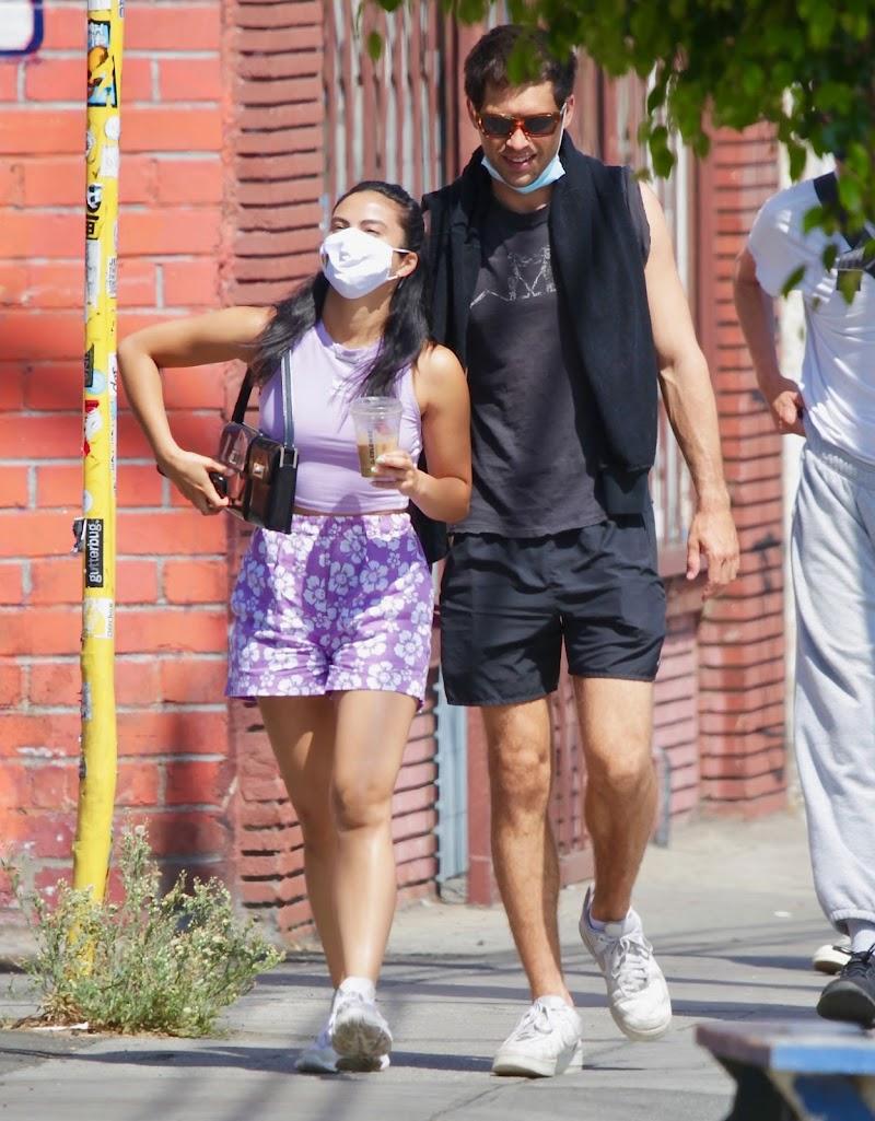 Camila Mendes Clicked in Summer Outfit – Los Feliz 14 Jul -2020