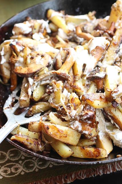 recette russe champignons