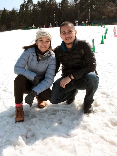 Snow in Kobe