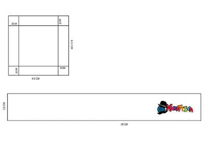 modello per cuore di carta 3d