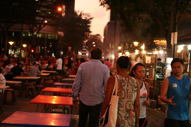 Chi phí đi du lịch singapore tự túc: Ăn Satay
