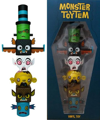 Monster Toytem Stackable Vinyl Toy Set by Gary Ham