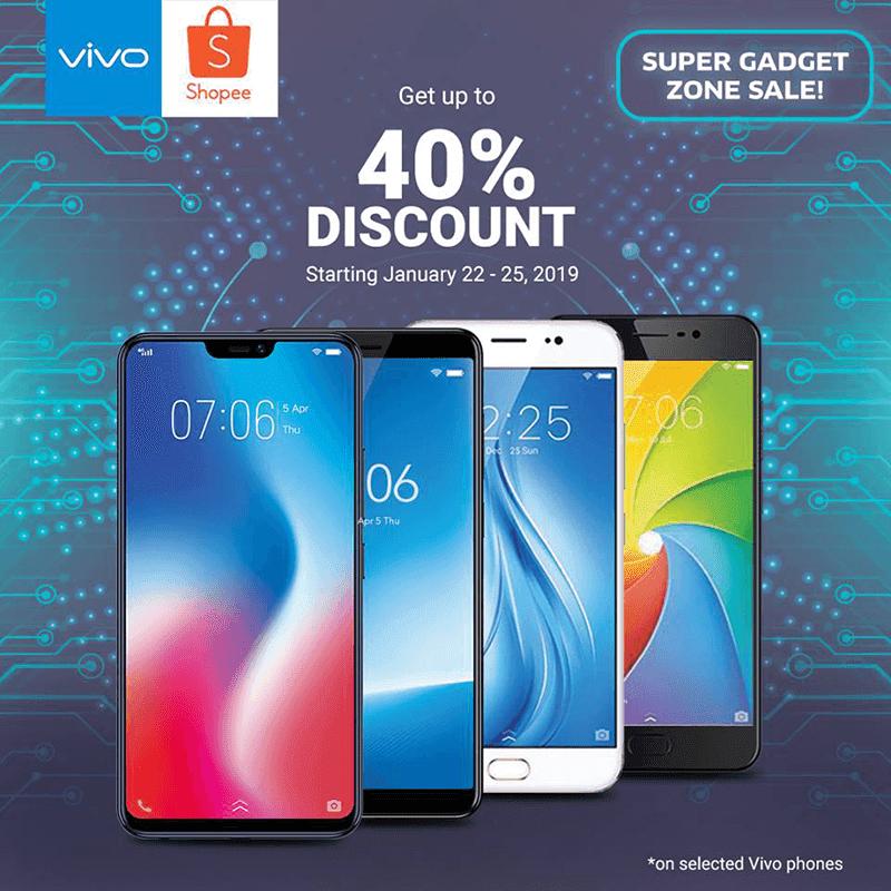 Vivo joins Shopee Super Gadget Zone Sale!