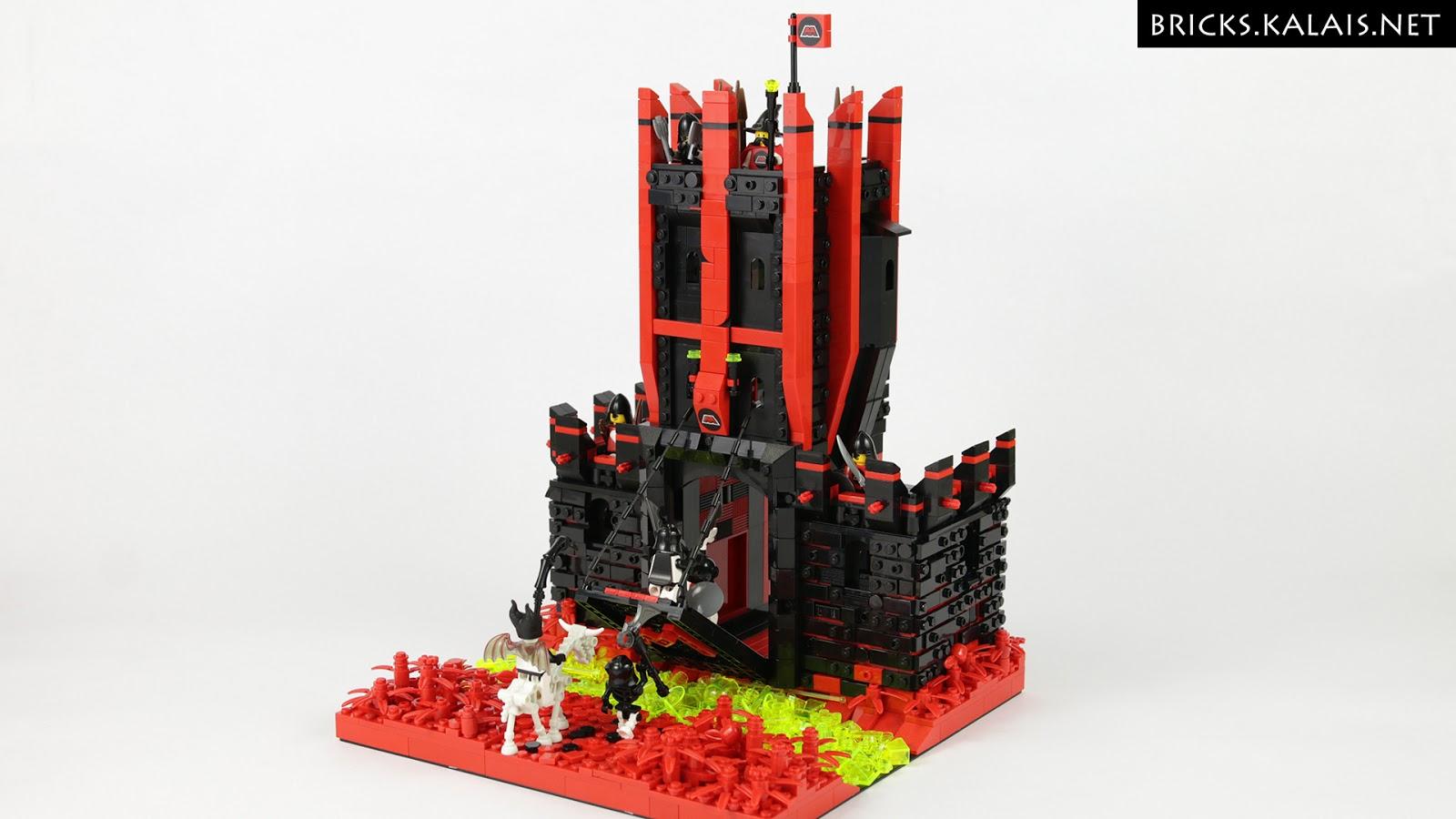 [MOC] M:Tron mają zamek, a Blacktron to nieumarli!