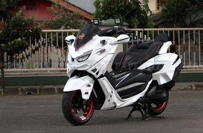 Modifikasi Lampu Motor Nmax Yamaha
