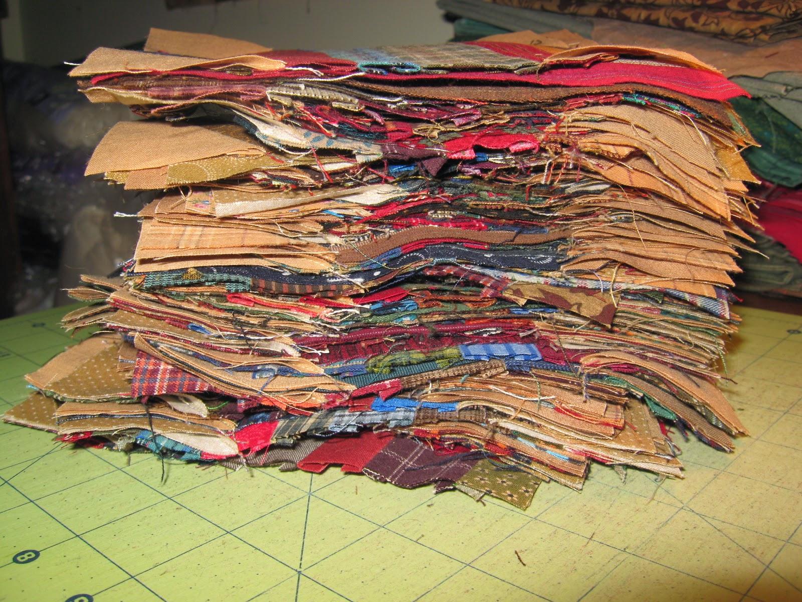 quilt blocks for Dark Strings scrap quilt