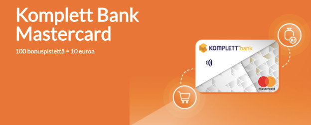 Komplett Bank Mastercard kokemuksia