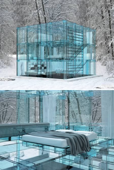 Glass House Architecture: Funny Freast: Most Amazing Glass Houses