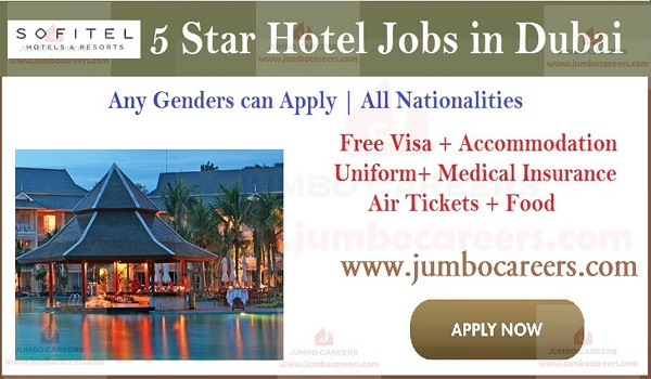 Latest 5 star hotel jobs in Dubai, Dubai part time hotel jobs,