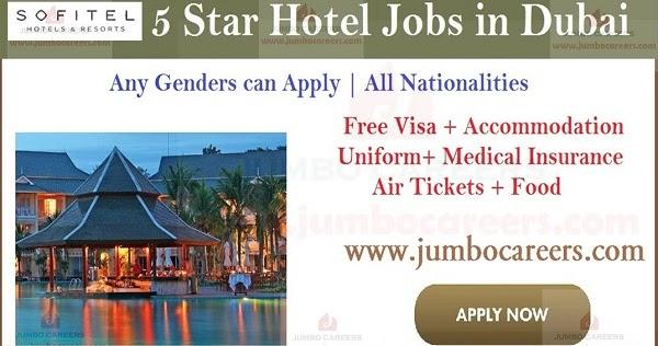 5 Star Sofitel Hotels And Resorts Dubai Jobs 2019 2020