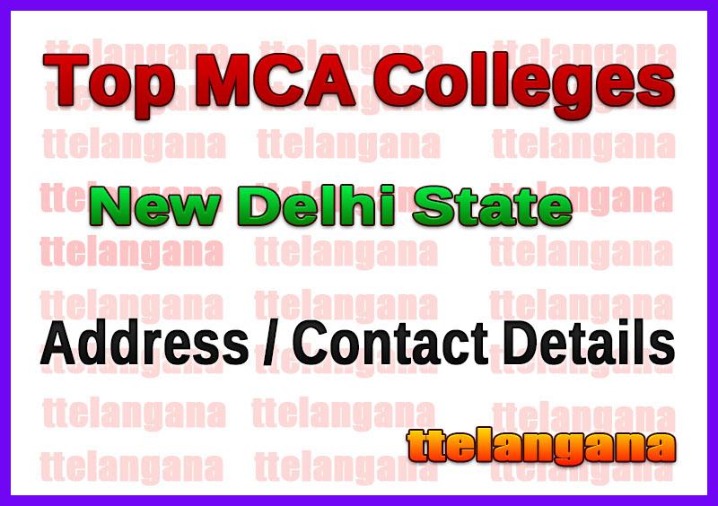 Top MCA Colleges in New Delhi