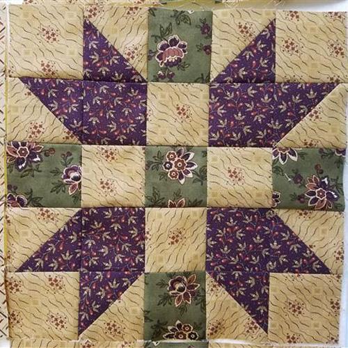 Churn Dasher Quilt Block Pattern