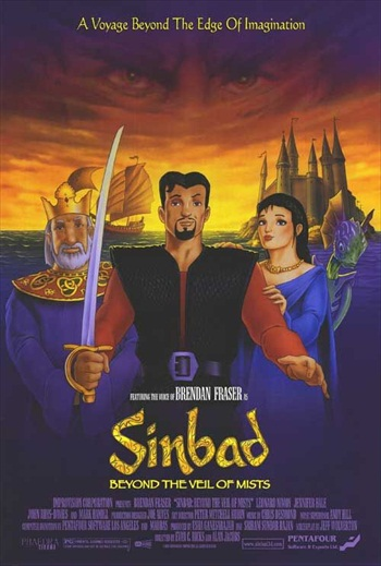 Sinbad - Beyond The Veil Of Mists 2000 Dual Audio Hindi Movie Download
