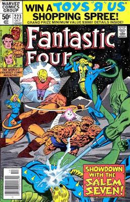Fantastic Four #223, Salem's Seven