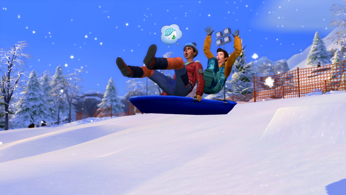 The SIMS 4 Add-On Review: Snowy Expanse screenshot 6