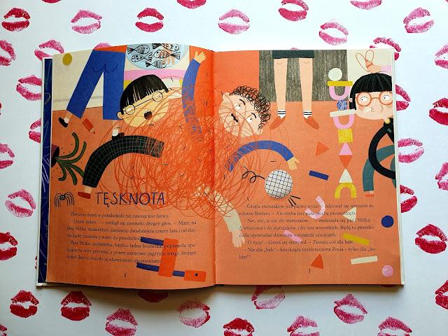 Tylko bez całowania, czyli jak sobie radzić z niektorymi emocjami - Grzegorz Kasdepke - Nasza Księgarnia - książki dla dzieci - blog rodzicielski - blog parentingowy - blog o książkach dla dzieci - książki o emocjach