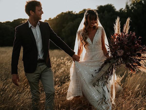 ➳ MILA + JESSE | DIY WEDDING IN THE FIELDS {MARGARET RIVER}