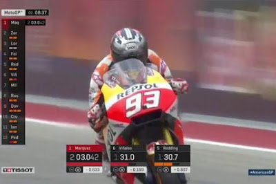 Geser Vinales, Marquez Raih Pole MotoGP Amerika