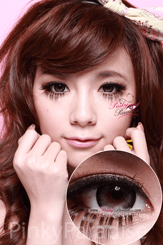 G&G Blossom Grey Circle Lenses (Colored Contacts)