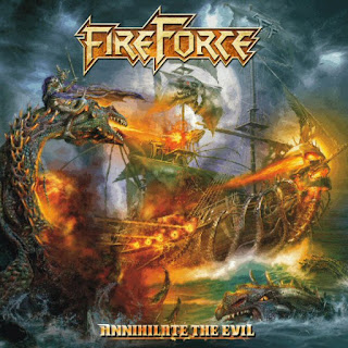 "FireForce - ""Gimme Shelter"" (Rolling Stones cover) from the album ""Annihilate the Evil"""