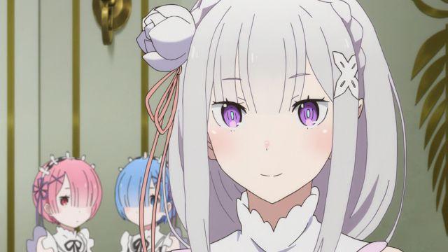 Yang Membuat Karakter Emilia Terlihat Cantik Adalah Art Dan Grafis Animenya Sedikit Lebih Bagus Dibandingkan Anime Lainnya Matanya Pun Digambar Dengan