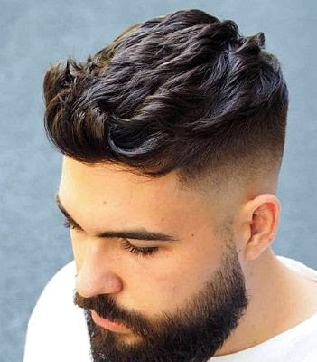 35 Modern Haircut For Men in 2020 - Skin tapers on the side
