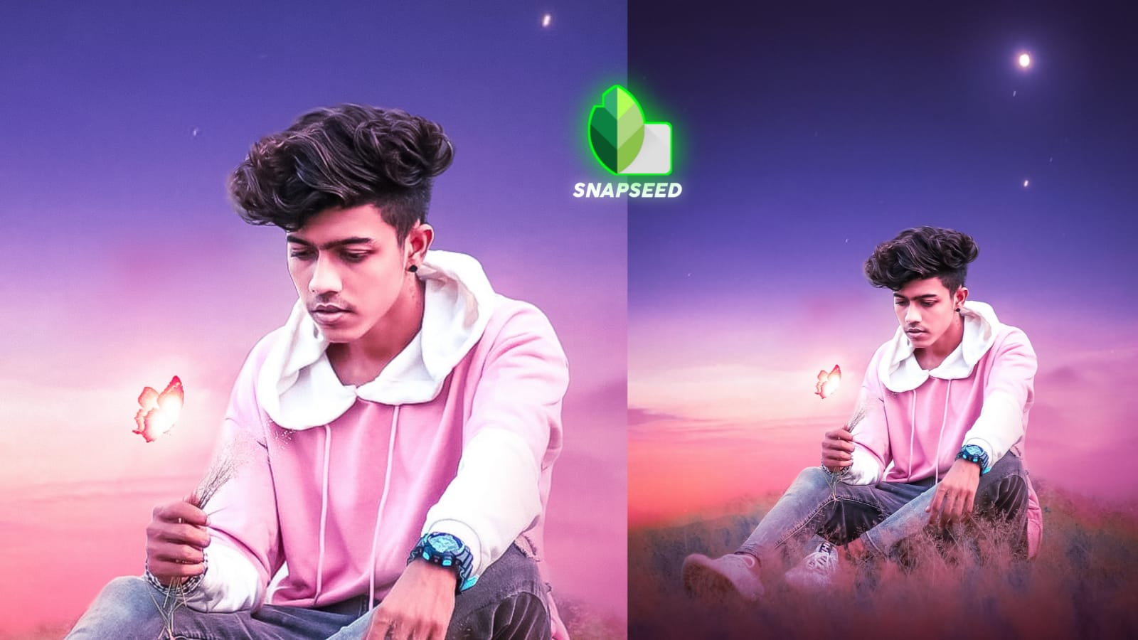 Snapseed Background change