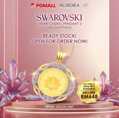 pg mall swarovski
