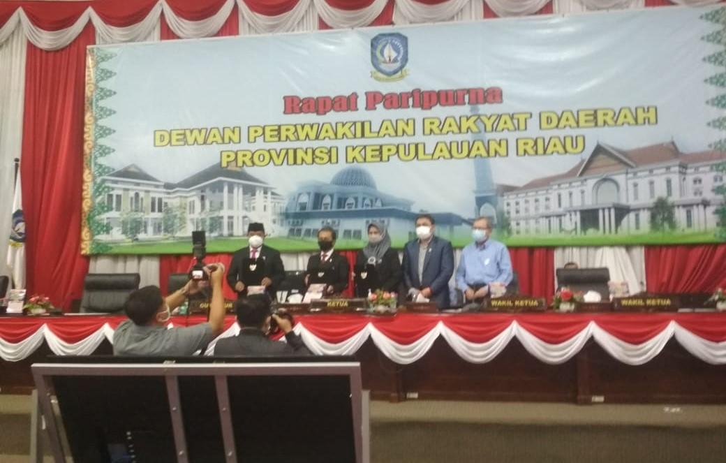 Ini Laporan Akhir Badan Anggaran DPRD Provinsi Kepri.