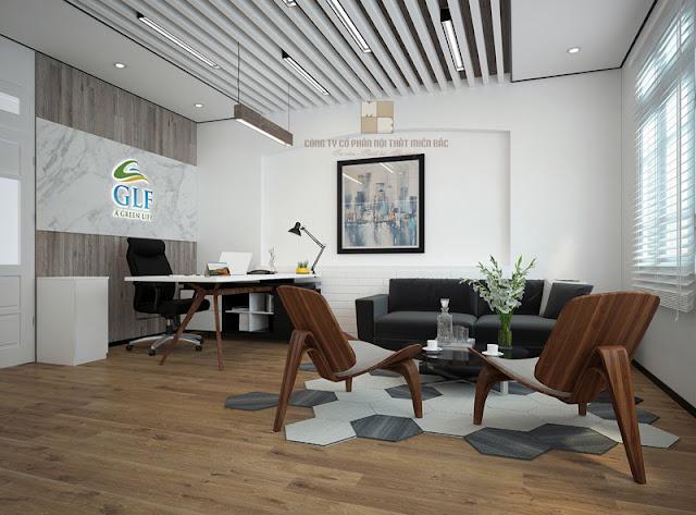Đơn giản nhưng phong cách, sang trọng mà không quá bề thế là đặc điểm chung của dòng sản phẩm bàn giám đốc hiện đại dành cho các sếp trẻ của nội thất Miền Bắc