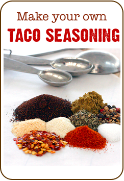 taco seasoning recipe to make at home