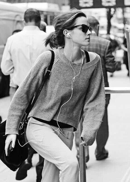Emma Watson in Black and White