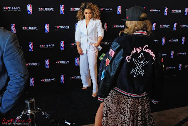 TAMMY @wbywhitewolfe & @helenchikx Helen Chik at TISSOT NBA Finals Party Sydney - Photography by Kent Johnson.