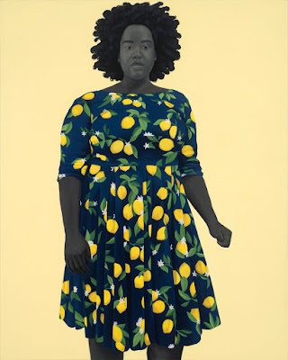 She Always Beleived The Good About Those She Loved (2018), Amy Sherald.