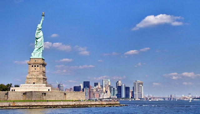 New york city – The City from Woman Liberty