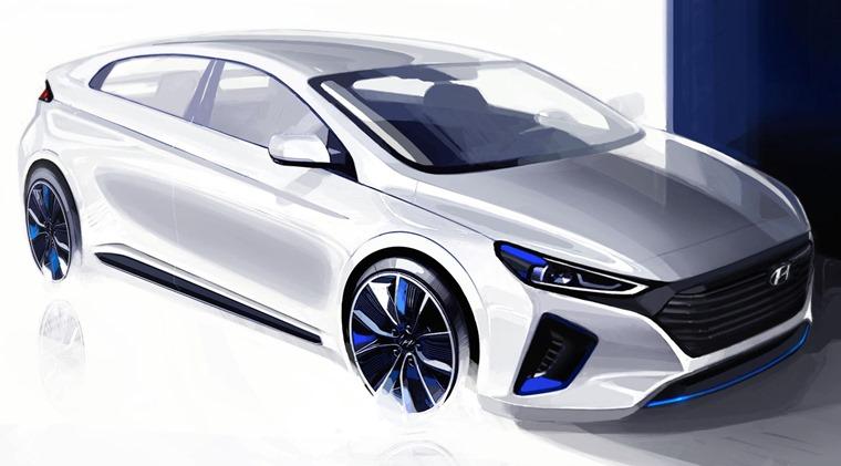 Resultado de imagem para Hyundai IONIQ salão do automóvel
