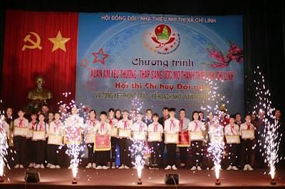 Thị đoàn Chí Linh: Hội thi Chỉ huy Đội giỏi - Thắp sáng ước mơ thanh thiếu nhi năm 2018