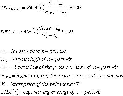 DSS Oscillator formula