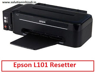 Epson L101 Resetter Free Download