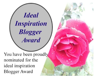 Ideal Inspiration Blogger Award | Feaured with permission on www.BakingInATornado.com | #MyGraphics #blogging